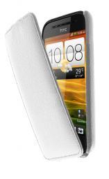 Чехол LaZarr Protective Case для HTC One SV, эко кожа, белый