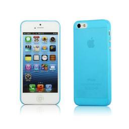 Чехол Muvit iMatt ультра тонкий для iPhone 5 пластик голубой