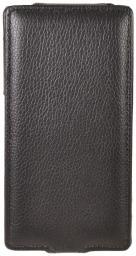 Чехол LaZarr Protective Case для Sony Xperia Z C6603, эко кожа, черный