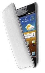 Чехол LaZarr Protective Case для Samsung Galaxy S Advance i9070, эко кожа,белый