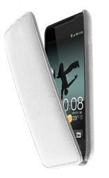Чехол LaZarr Protective Case для HTC J, эко кожа, белый