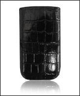 Футляр Cason для Galaxy SIII mini Elite с внешней лентой ,черный след