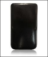 Футляр Cason для Galaxy SIII mini Elite с внешней лентой ,шик черный
