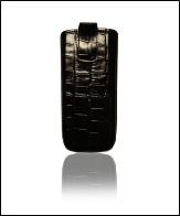 Футляр Cason для Galaxy S4 mini с магнитом, черный след