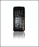 Флип-кейс CASON серии Lite HTC One S камешки мрамор черный