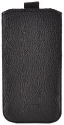Чехол кожаный Prime Classic для HTC One mini, флотер черный