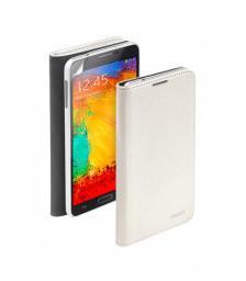 Чехол Deppa Wallet Cover и защитная пленка для Samsung Galaxy Note3, белый