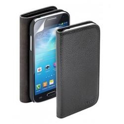 Чехол Deppa Wallet Cover и защитная пленка для Samsung Galaxy S4 mini, магнит, черный