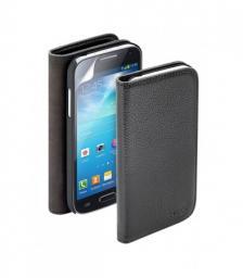 Чехол Deppa Wallet Cover и защитная пленка для Samsung Galaxy S4, магнит, черный