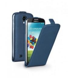 Чехол Deppa Flip Cover и защитная пленка для Samsung Galaxy S4, магнит, синий
