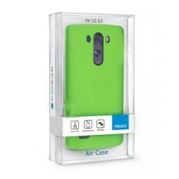 Чехол Deppa Air Case и защитная пленка для LG G3, зеленый