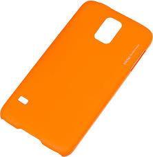 Чехол Deppa Air Case и защитная пленка для Samsung Galaxy S5, оранжевый