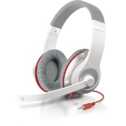 Гарнитура Speedlink AUX Stereo Headset, White-Red