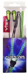 Наушники Vibe Slick Zip V3 зеленый, с микрофоном