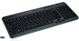 Клавиатура Logitech Wireless Keyboard K360 Black USB (920-003095)