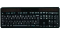 Клавиатура Logitech Wireless Solar Keyboard K750 Black USB