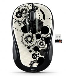 Мышь Logitech M325 Wireless Mouse Ink Gears USB (910-003026)