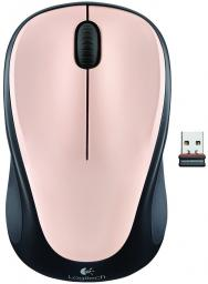 Мышь Logitech M235 Wireless Mouse Pink Ivory USB