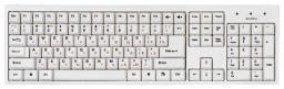 Клавиатура+мышь SVEN Standard 310 Combo USB белый (SVN-SV-03100310UW)