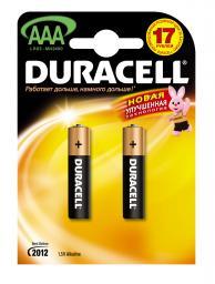 Батарея Duracell LR03-2BL Basic