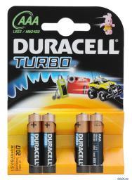 Батарея Duracell LR03-4BL Turbo
