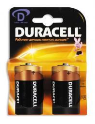 Батарея Duracell LR20-2BL (20/60/3840)