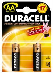 Батарея Duracell LR6-2BL Basic (40/120/10200)