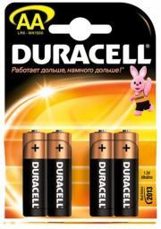 Батарея Duracell LR6-4BL Basic (80/240/20400)