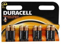 Батарея Duracell LR6-8BL Basic (96/18240)