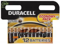 Батарея Duracell LR03-12BL