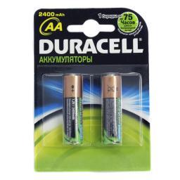 Аккумуляторная батарея Duracell HR6-2BL 2400mAh