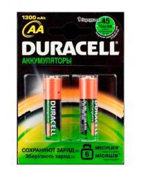 Аккумуляторная батарея Duracell HR6-2BL 1300mAh