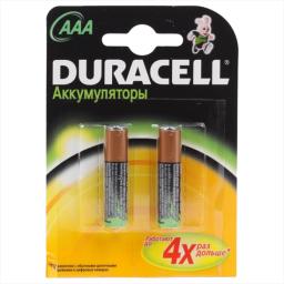 Аккумуляторная батарея Duracell HR03-2BL 750mAh 2 шт