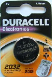 Батарея Duracell CR2032