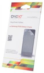 Защитная пленка  ONEXT Samsung Galaxy S2 plus прозрачная