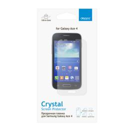 Защитная пленка Deppa для Samsung Galaxy Ace 4, прозрачная