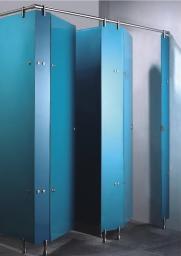 Фурнитура нержавеющая для кабин туалетных из стекла, стеклянные туалетные перегродки