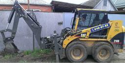 Аренда мини погрузчика Bobcat в Краснодаре