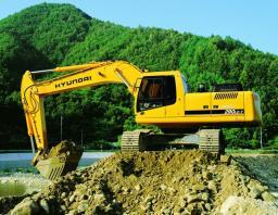 Аренда гусеничного экскаватора Hyundai 290 в Краснодаре