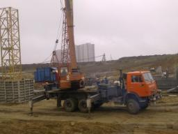 Аренда автокрана 16/25 тонн