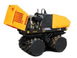 Аренда траншейного катка и уплотнителя Terex BTR 855