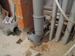 Монтаж и замена канализации