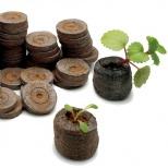 Торфяные (Торфо- перегнойные) таблетки Джиффи (Jiffy), диаметр 33 мм,2000шт/кор