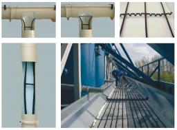 Греющий кабель для обогрева крыш и водостоков GR 40-2CR в оплетке с защитой от УФ лучей