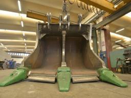 Ковш-рыхлитель карьерный Hammer (Италия) для экскаваторов