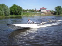 Лодка Сибирь 460М