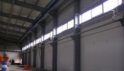 Отопление производственных зданий и помещений
