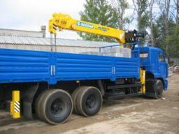 Аренда манпулятора Soosan 7 тонн, 20 метров борт Камаз 7м., автокрана 14, 16, 20, 25 тонн, 28 метров. Недорого