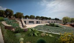 Инвестируем в Италию. В городке Санта Мария ди Леука продается новая вилла, площадью 400м2.