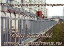 Забор К-1, оцинкованный,